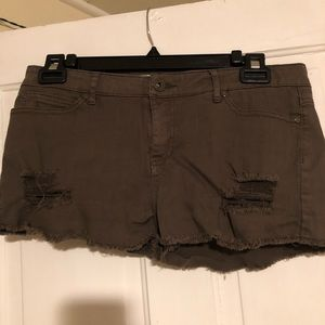 Distressed Forever21 Shorts